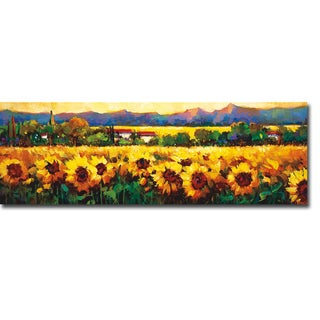 Sweeping Fields of Sunflowers by Nancy O'Toole Gallery-Wrapped Canvas Giclee Art