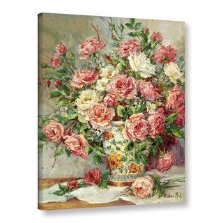 Barbara Mock's Posies For The Princess, Gallery Wrapped Canvas