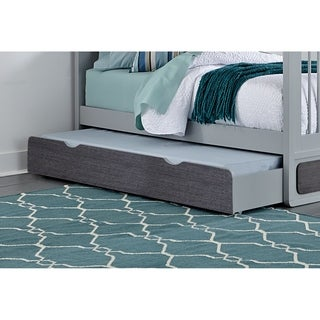 Hillsdale East End Twin Trundle, Gray