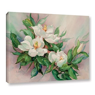 Barbara Mock's Magnolia Blossoms, Gallery Wrapped Canvas