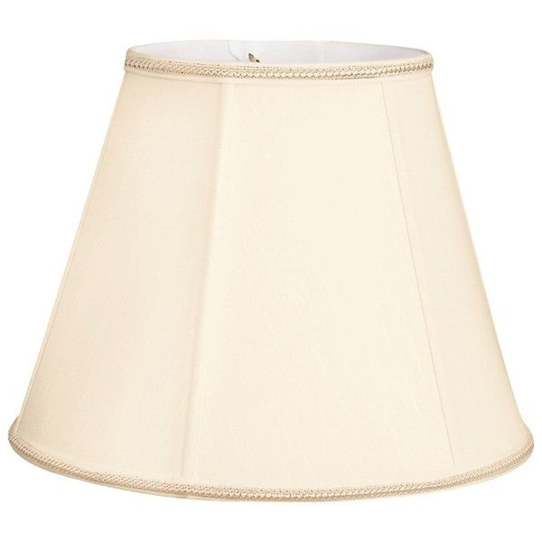 Royal Designs Empire Designer Lamp Shade, Eggshell, 5 x 10 x 7.5