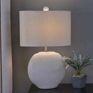 Baldwin Oval Ceramic Table Lamp