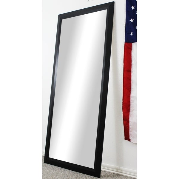 Rayne Mirrors Black Full body Floor length American made Mirror. Rayne Mirrors Black Full body Floor length American made Mirror