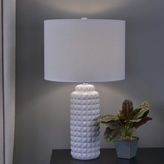 Max Studded Ceramic Table Lamp