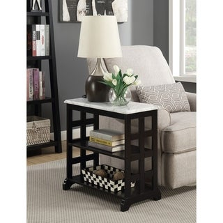 Convenience Concepts American Heritage Baldwin Chairside Table