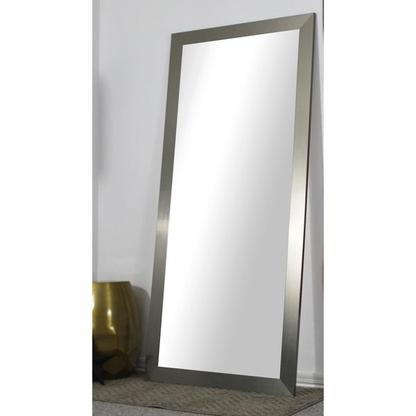 American Made Full Body/Floor Length Mirror - Silver