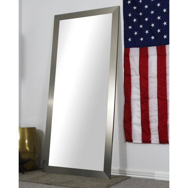 American Made Full Body/Floor Length Mirror - Silver - Free Shipping ...