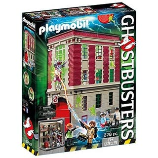 PLAYMOBIL Ghostbusters Firehouse 9219|https://ak1.ostkcdn.com/images/products/18217924/P24359827.jpg?impolicy=medium