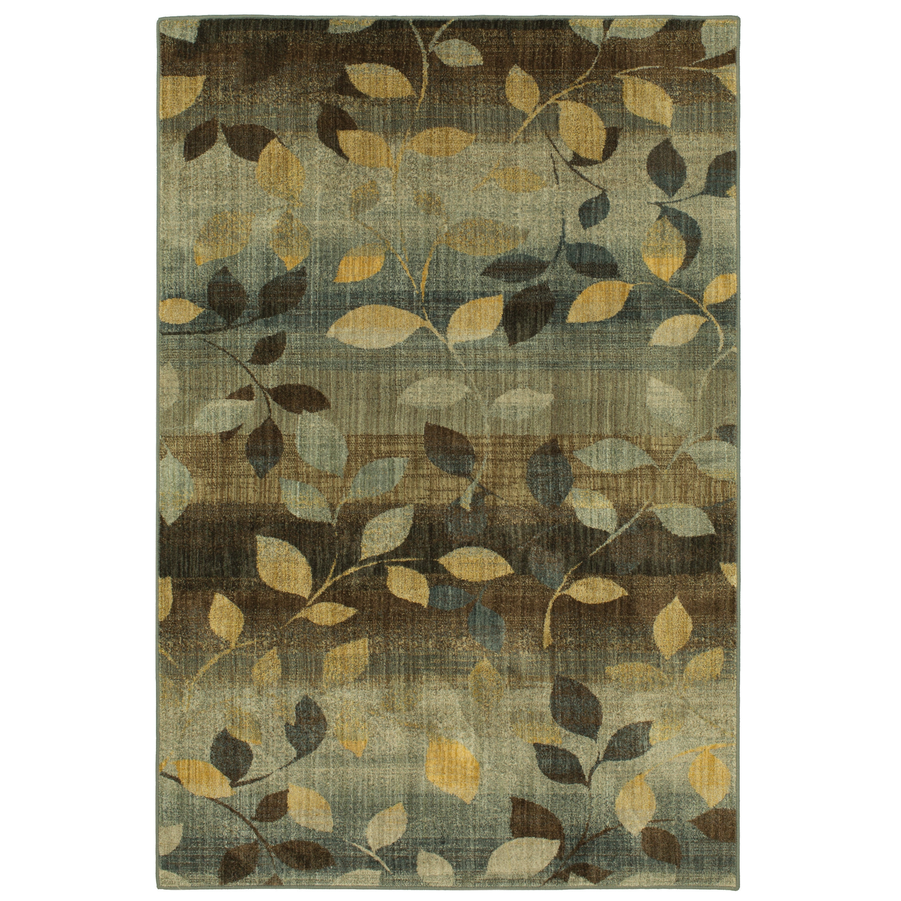 Savannah Ombre Green Dled Area Rug