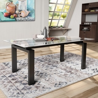 Glass Kitchen Dining Room Tables For Less Overstock
