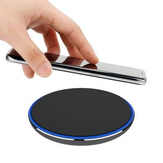 Samsung Universal Wireless Charging Disk Pad W Aluminum Led Frame