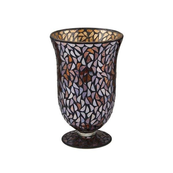 Elements 11 Inch Glass Mosaic Bell Vase Free Shipping On Orders
