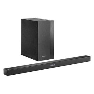 Samsung 2.1-Channel 300 Watt Soundbar with Wireless Active Subwoofer (Refurbished)|https://ak1.ostkcdn.com/images/products/18218256/P24360114.jpg?impolicy=medium