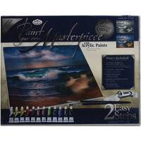 "Acrylic Paint Your Own Masterpiece Kit 11""X14"""