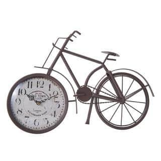 Elements Rust Brown Bike Table Clock|https://ak1.ostkcdn.com/images/products/18218338/P24360173.jpg?impolicy=medium