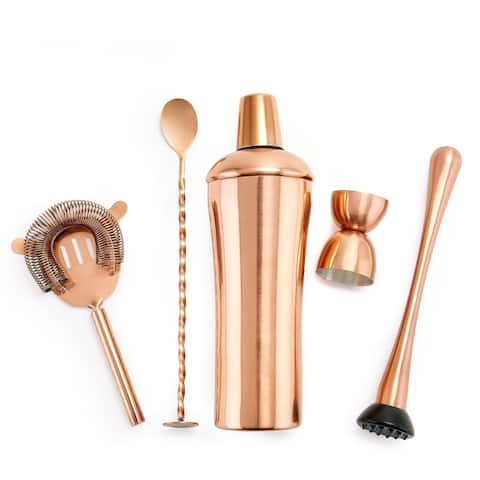 DuraCopper® 5 Pc. Cocktail Shaker Set