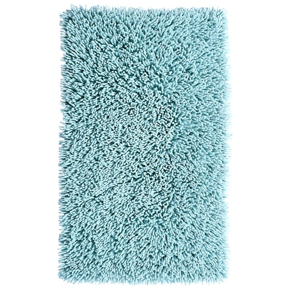 Shop Bath Rug Chenille Shaggy Style Free Shipping On