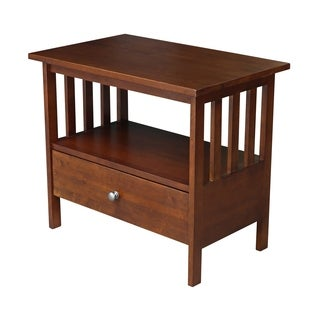 """International Concepts Mission Entertainment/TV Stand - 28"""" - n/a"""