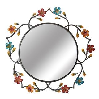 Elements 30x28in Daisy Wall Mirror