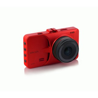 """Minolta Full HD 1080p Wide Angle Car Dashboard Camera with G-Sensor, WDR, Loop Recording & 3"""" LCD (Option: Red)"""
