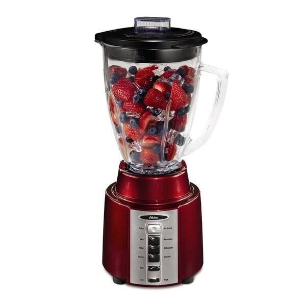 Oster BCCG08-RR0-027 8 Speed 450 Watt All Metal Drive 6 Cup Blender Red