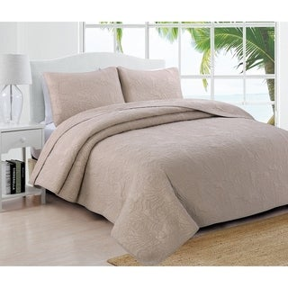 Estate Collection Laguna Cotton Quilt Set