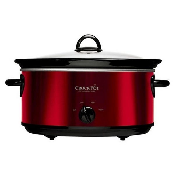 Shop Crock Pot SCV800 R 8 Quart Manual Slow Cooker Red