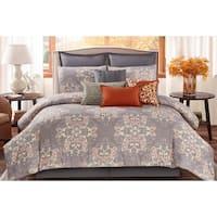Wonder Home Aubrey 10PC Cotton Printed Comforter Set