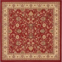 Unique Loom Washington Sialk Hill Square Rug - 8' Square