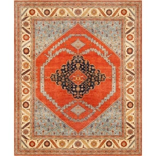 """Pasargad Serapi Collection Hand-Knotted Wool Area Rug (12' 1"""" X 15' 1"""") - 12' x 15'"""