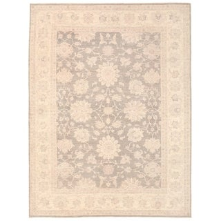 """Pasargad Ferehan Collection Hand-Knotted Wool Area Rug (8' 9"""" X 11' 7"""") - 9' x 12'"""