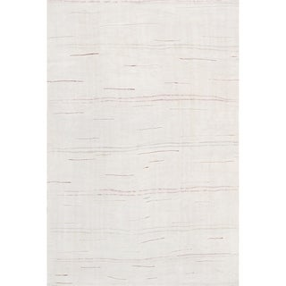 "Pasargad Vintage Kilim Collection Ivory/Multi Hand-Woven Hemp Rug (5' 1"" X 8' 0"")"