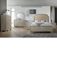 Home Source Bedroom Furniture Queen Bed/Dresser/Mirror/2 Night stand/Chest