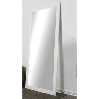 U.S. Made Full Body/Floor Length Mirror - White