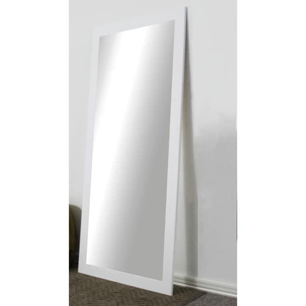 U.S. Made Full Body/Floor Length Mirror - White