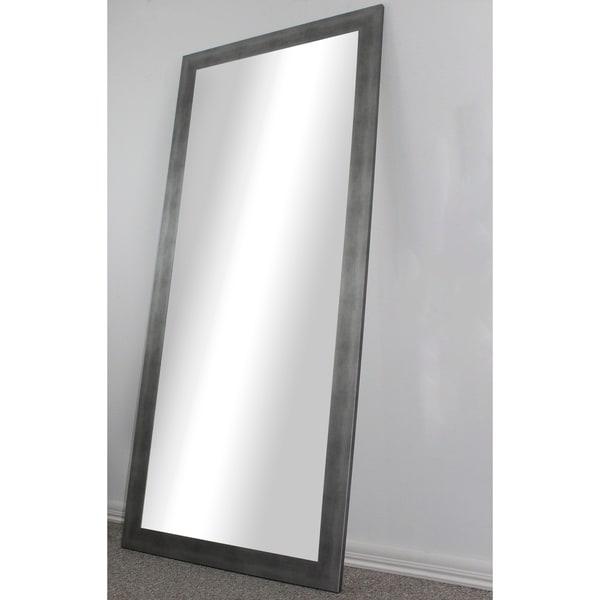 Shop U S Made Full Body Floor Length Mirror Silver