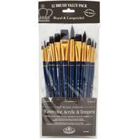 Black Taklon Value Pack Brush Set