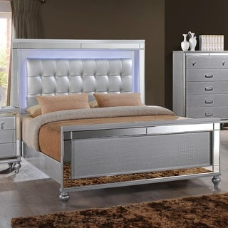 Home Source Bedroom Furniture Queen Bed/Dresser/Mirror/2 Nightstands/Chest