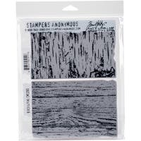 "Tim Holtz Cling Stamps 7""X8.5"""
