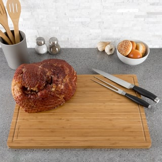 Classic Cuisine Extra Large Bamboo Cutting Board|https://ak1.ostkcdn.com/images/products/18218990/P24360744.jpg?impolicy=medium