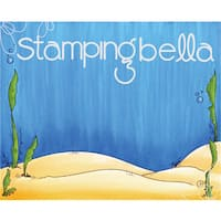 "Stamping Bella Backdrop Cling Stamp 3.75""X5"""