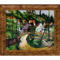 Paul Cezanne 'Turn in the Road' Hand Painted Oil Reproduction