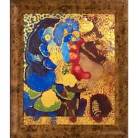 Odilon Redon 'Woman Among the Flowers, 1910' (Luxury Line) Hand Painted Oil Reproduction