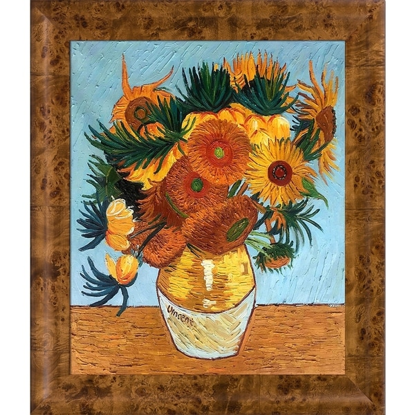5bff180ae1f Vincent Van Gogh   x27 Sunflower Collage  x27  Hand Painted Oil Reproduction