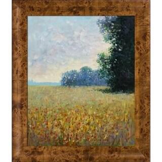 Claude Monet 'Champ d'avoine (Oat Fields)' Hand Painted Oil Reproduction