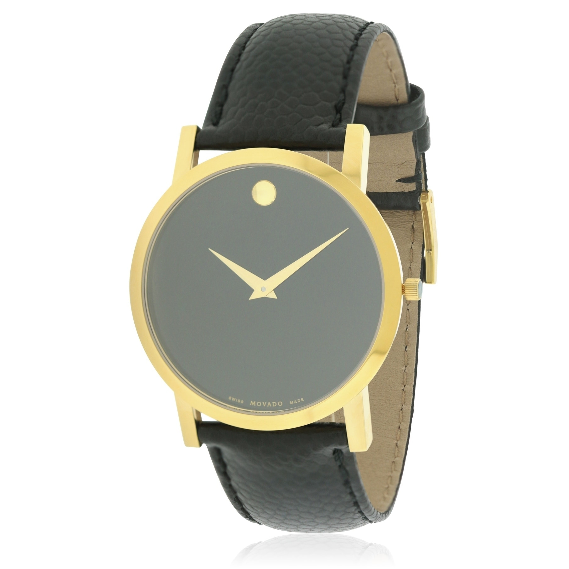 Movado Classic Museum Mens Watch 0606180, Gold-Tone, Size...