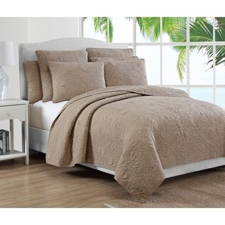 Estate Collection Seaside Cotton Quilt Set
