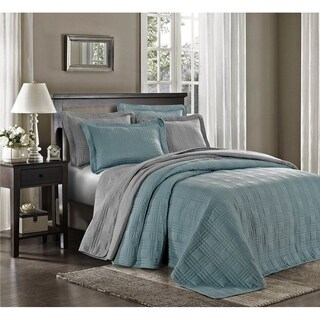 3pcs Kingston Oversized Quilted Bedspread Set