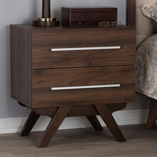 Link to Mid-Century 2-Drawer Nightstand Baxton Studio Similar Items in Bedroom Furniture