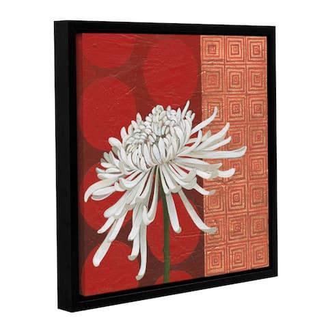 Katherine Lovell's Morning Chrysanthemum II, Gallery Wrapped Floater-framed Canvas